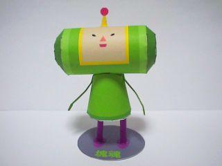 katamari, ps2, videojuego, papercraft